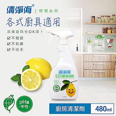 清淨海 環保廚房清潔劑(檸檬飄香) 480ml
