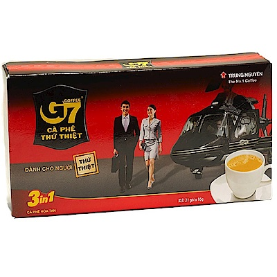 G7 三合一即溶咖啡(16gx21包)