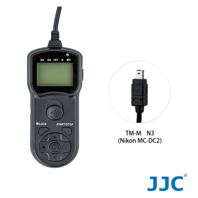 JJC TM-M 液晶定時快門線 N3 (Nikon MC-DC2)