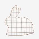 Dailylike 壁面網格吊掛架-02 兔子