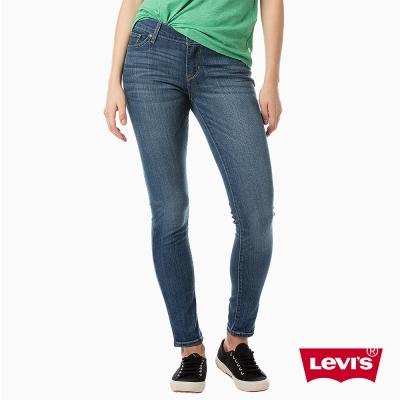 Levis 女款 711 中腰緊身窄管牛仔長褲 亞洲版型 中彈力布料