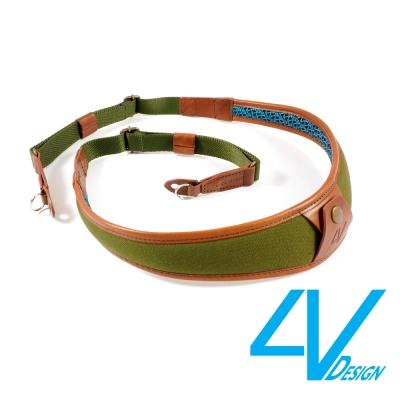 4V ALA系列相機背帶 LR-CV2723-綠褐/棕(L)