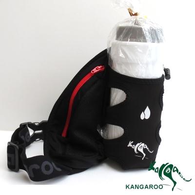 KANGAROO休閒單水壺腰包(酷線紅) K140119002 運動腰包 臀包