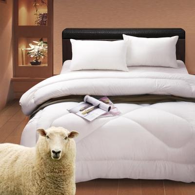 Jumendi-清雅戀語 雙人純淨紐西蘭純羊毛被2.5kg