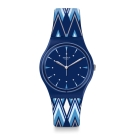 Swatch 田園風情系列 PIKABLOO 繽紛海軍手錶