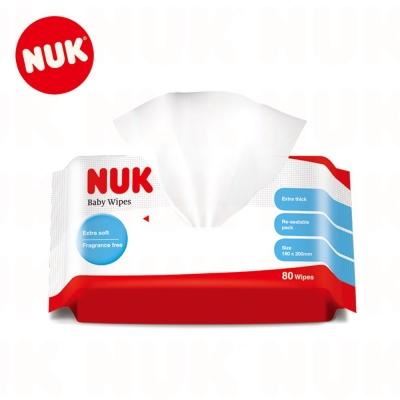 NUK 濕紙巾 (80抽單包)