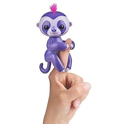 Fingerlings 互動寵物猴 - 樹懶(紫)