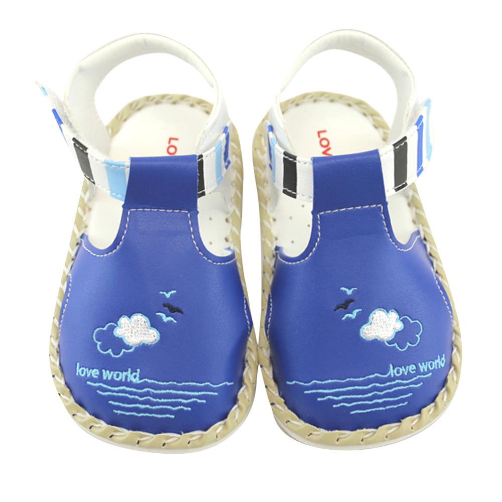 愛的世界 泛舟冠軍寶寶鞋/學步鞋 -台灣製-