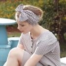 羅絲美睡衣 - 水玉點點短袖裙裝睡衣(氣質灰)