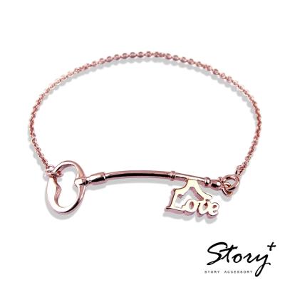 STORY ACCESSORY-幸福之鑰-字母款長鑰匙手鍊