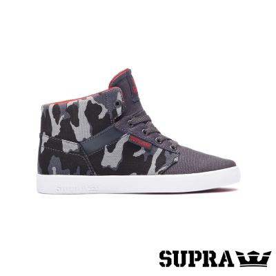 SUPRA Yorek HI系列童鞋-灰迷彩/白