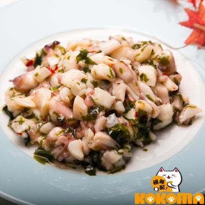 極鮮配 芥末魷魚(200g/包)-8包入 微辣的口感 吃了回味無窮