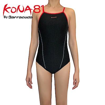 美國巴洛酷達Barracuda KONA81細肩帶挖背抗UV連身泳裝