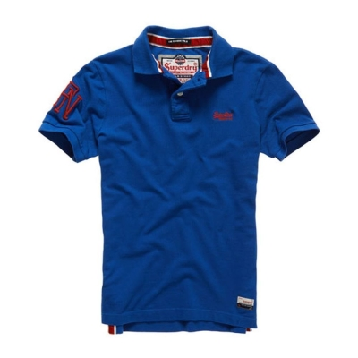 SUPERDRY 極度乾燥 短袖 POLO 藍色