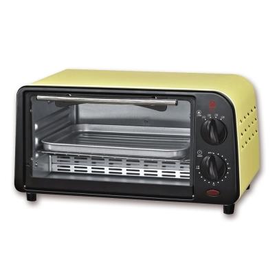 晶工牌9L鵝黃色小烤箱-JK-609