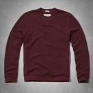AF a&f Abercrombie & Fitch 長袖 T恤 酒紅 168