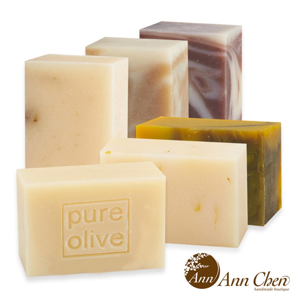 陳怡安手工皂-溫和肌膚淨柔手工皂六件組