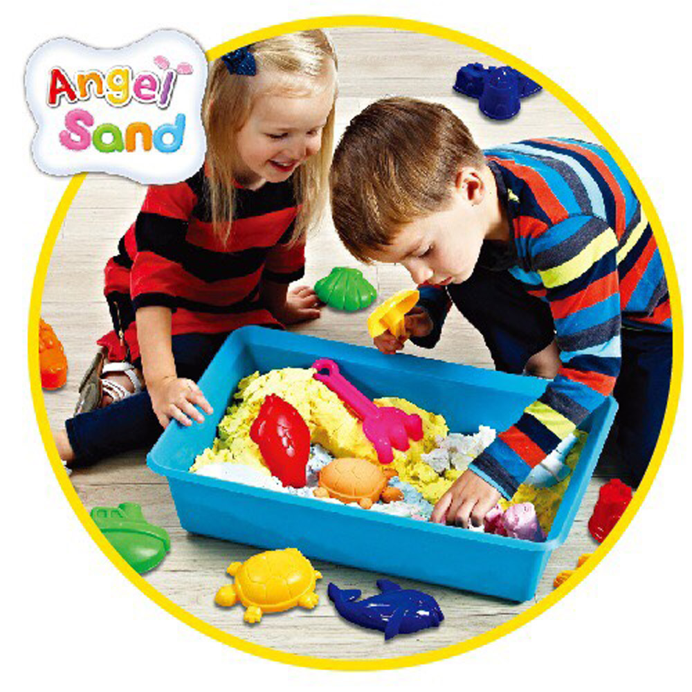 GMP BABY AngelSand-5色動力沙-模具DIY組-海洋動物