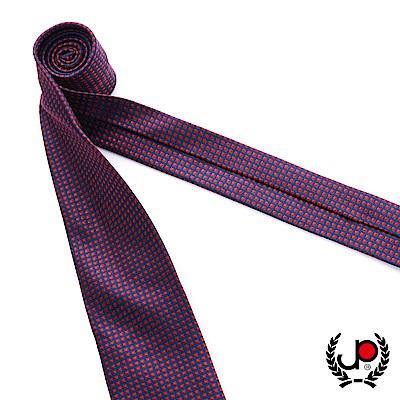極品西服 100%絲質義大利手工領帶_紅底細格紋(YT5072)