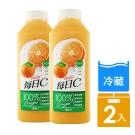 每日C 100%柳橙汁 1460ML (2瓶組)