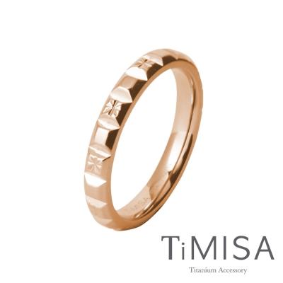 TiMISA《精彩皇冠》純鈦戒指(雙色可選)