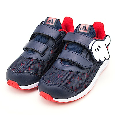 24H-ADIDAS-幼童鞋CQ0111-藍紅