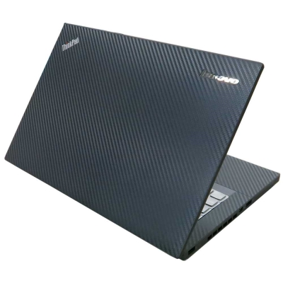 Lenovo ThinkPad T440 系列專用 Carbon黑色立體紋機身保護膜