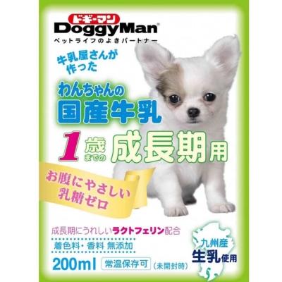 Doggyman 犬用國產牛乳-幼犬用 200ml