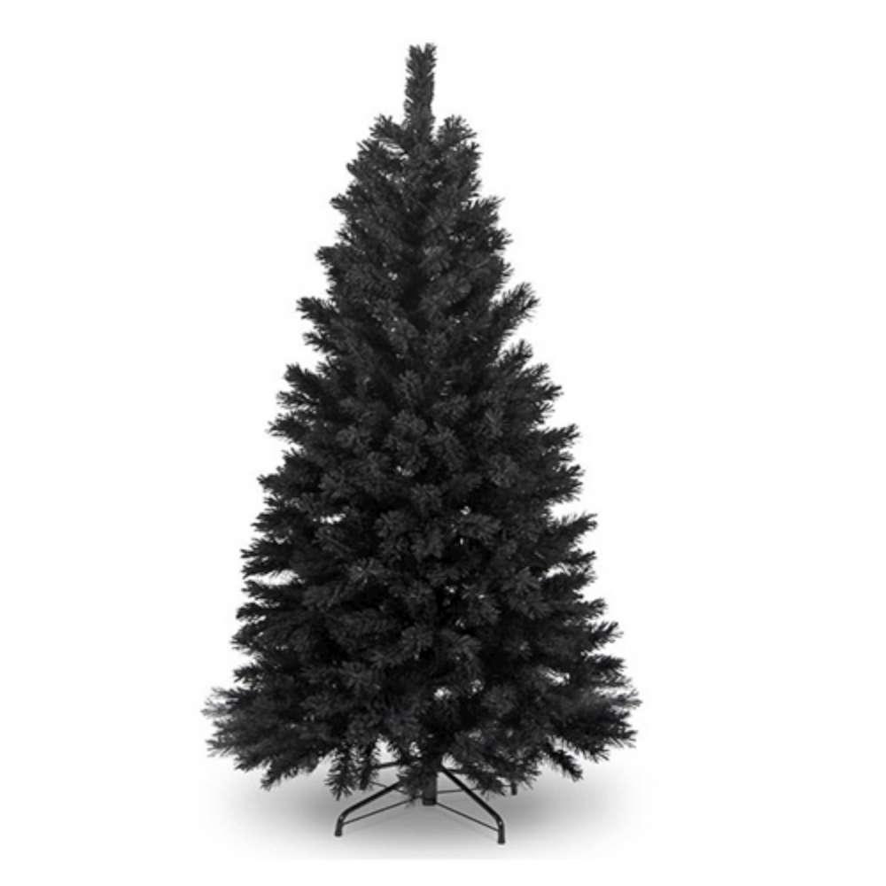 台製6尺(180cm)豪華版黑色聖誕樹-裸樹