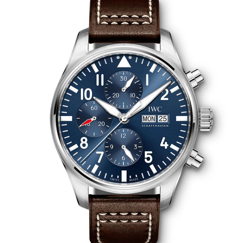 IWC 萬國錶 小王子 IW377714 複雜自動機械錶-夜藍/43mm
