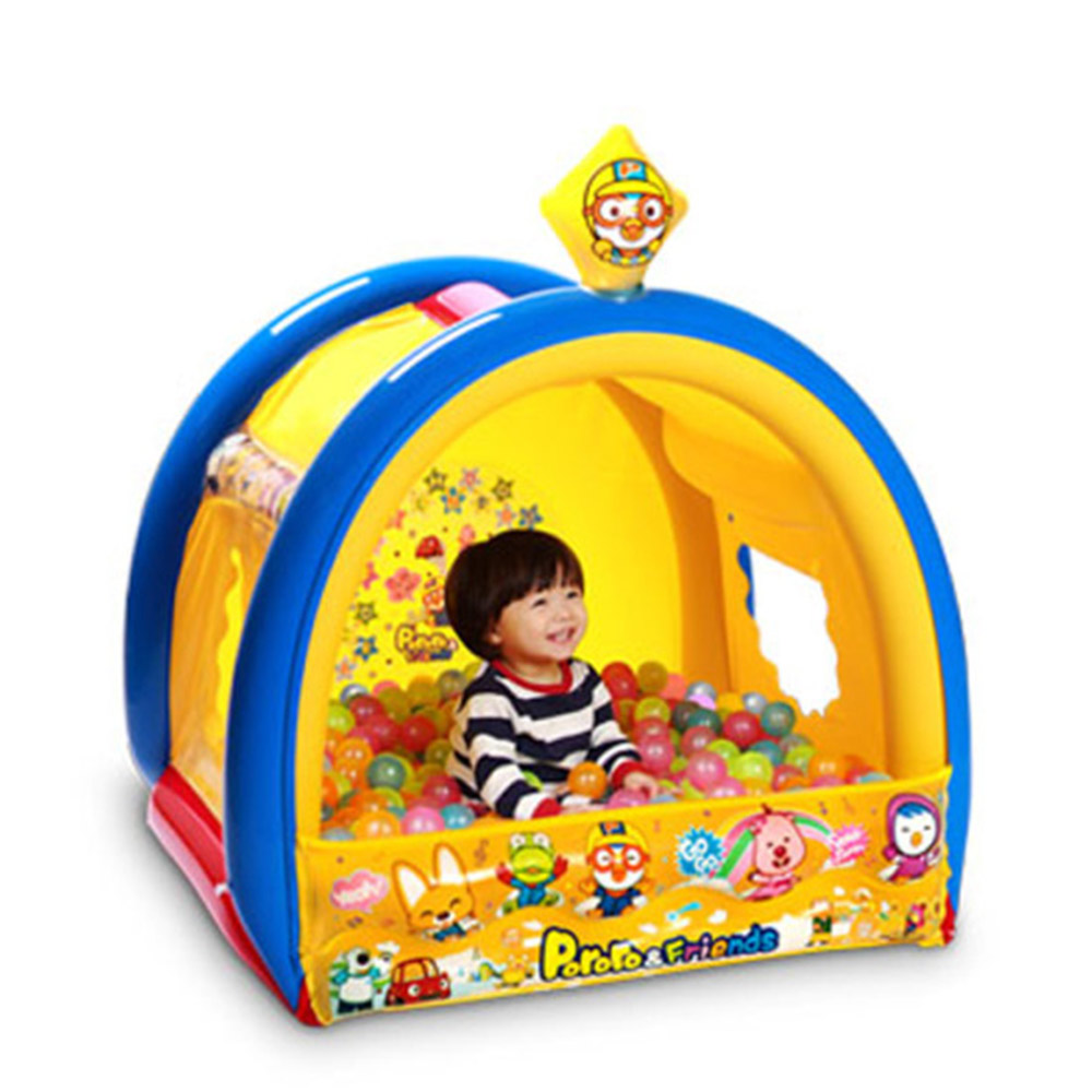 Pororo快樂小企鵝 小小球池屋