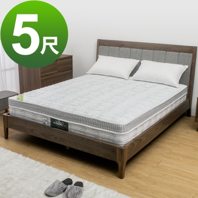Boden-科技銀奈米抗菌涼感乳膠獨立筒床墊(軟硬適中)-5尺標準雙人