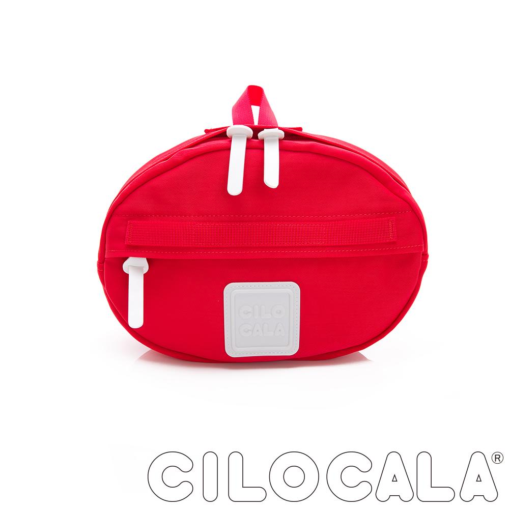 CILOCALA 亮彩尼龍防潑水TAMAGO側背包  紅色