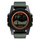 NIXON The Unit Tide40 飆悍美式軍風運動腕錶-錶帶綠/43mm