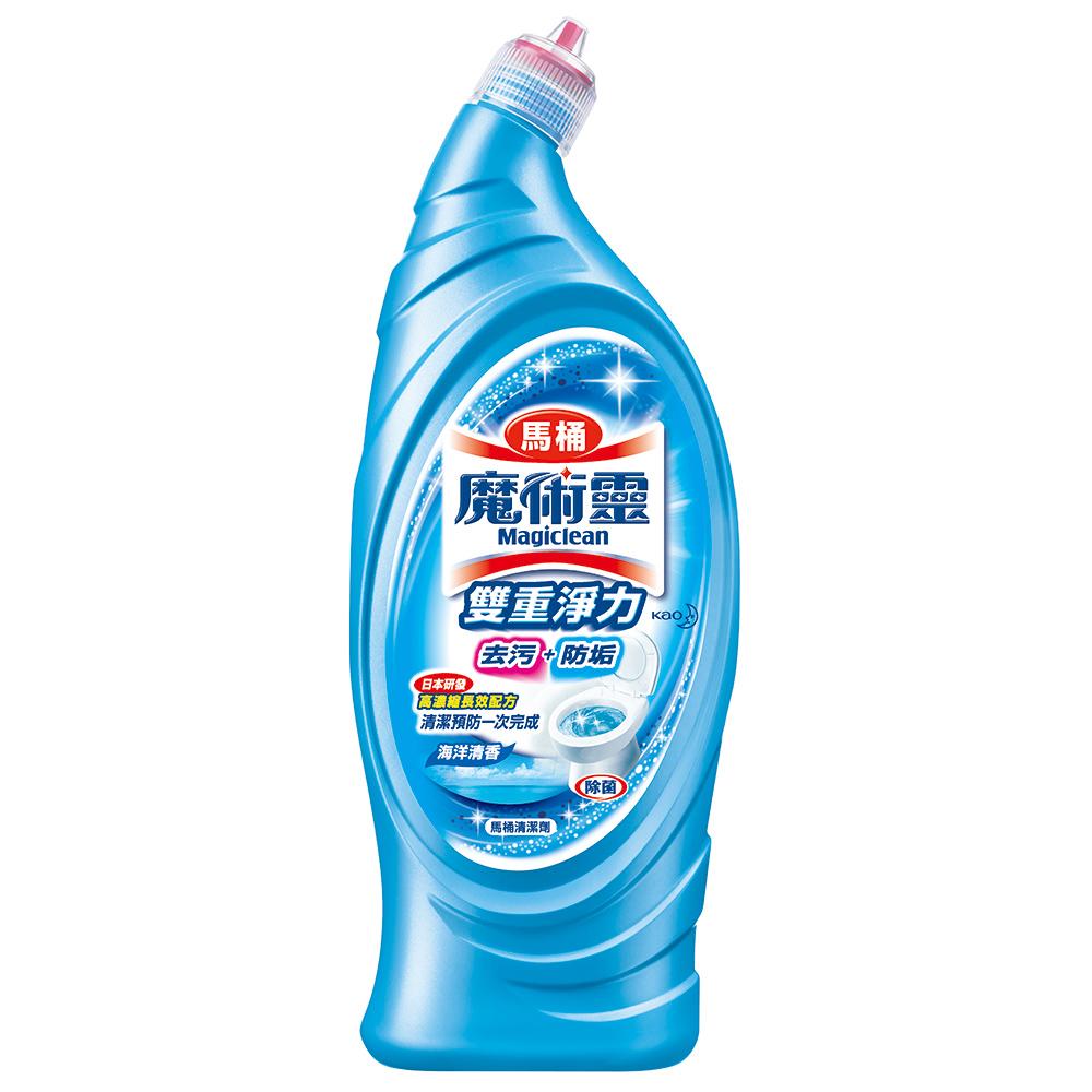 魔術靈 雙重淨力馬桶清潔劑-海洋清香 (650ml)