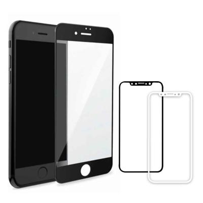 嚴選奇機膜 升級版 iPhone X 5.8吋 全螢幕滿版鋼化玻璃膜 9H