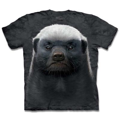 摩達客 美國進口The Mountain蜜獾 短袖T恤