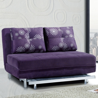 AT HOME-蔓蒂沙發床(紫色)
