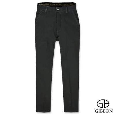 GIBBON 彈力防寒刷毛平口長褲‧黑色 30 - 42
