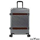RAIN DEER 賽維亞29吋PC+ABS亮面行李箱-鈦金銀