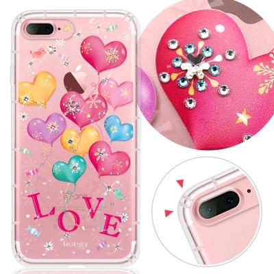 KnowStar APPLE iPhone7 Plus奧地利水晶彩繪防摔手機鑽殼...