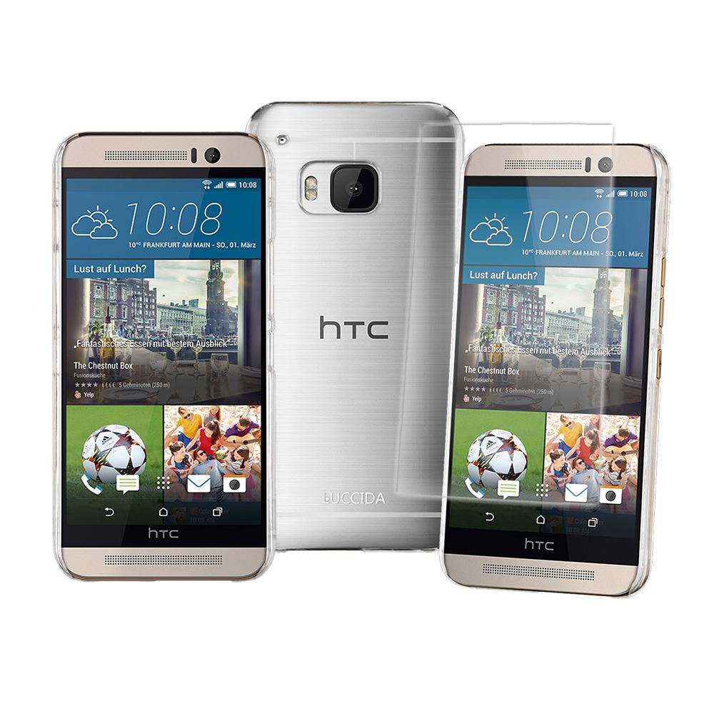 LUCCIDA HTC One M9 9H超硬度防爆鋼化玻璃保護貼