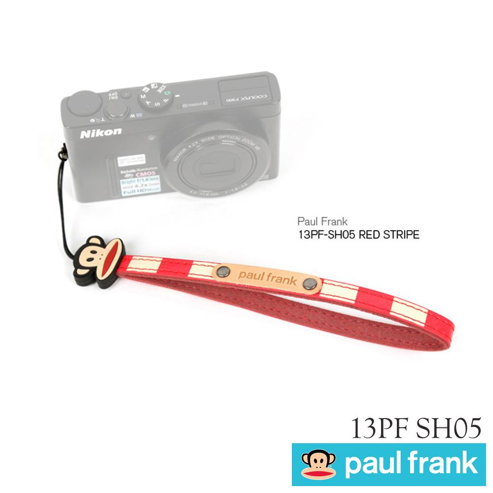 Paul Frank 小DC窄版手腕帶13PF-SH05 紅條紋