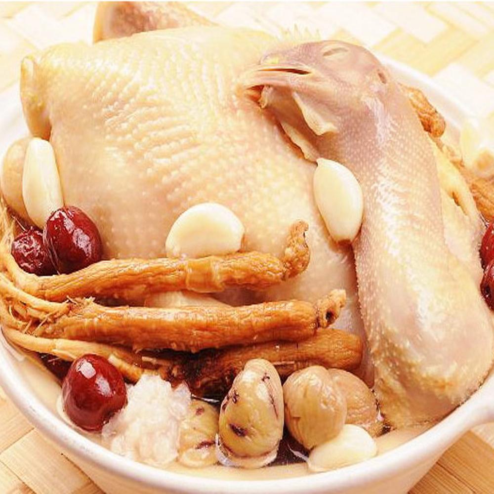 膳食家 人蔘糯米燉鹿野土雞湯(2500g)