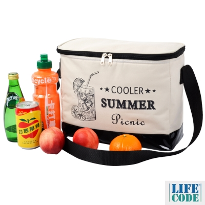 LIFECODE~COOLER 飲料保冰袋 10L ~2色