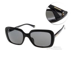 EMPORIO ARMANI太陽眼鏡 時尚方框/黑#EA4007F 501787