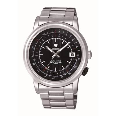 J.SPRINGS Modern-Classic 機械腕錶-黑/47mm