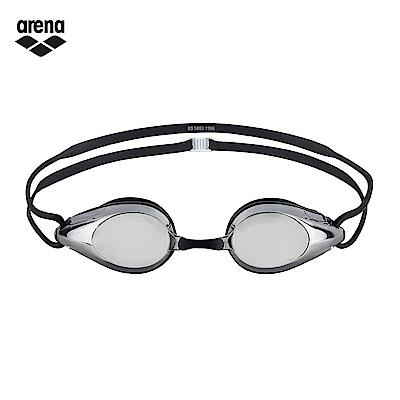 arena 競速電鍍泳鏡 鍍銀黑 AGG-280M SSMK