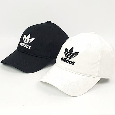 Adidas TREFOIL CAP 愛迪達 運動帽 黑白款