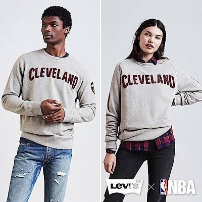LEVI'S X NBA長袖厚棉Tee 克里夫蘭騎士 - Levis